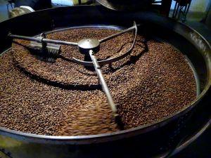 Processo de torrefação de café