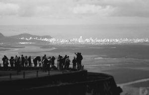 Vista da Estrada Velha de Santos