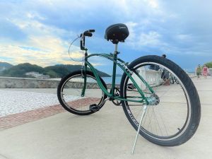 Aluguel de bicicleta para o Pedal Parceiro.